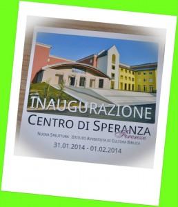 Inaugurazione per la chiesa 31.1-1.2.2014 Firenze 1
